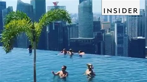 World's Largest and Highest Infinity Pool - YouTube