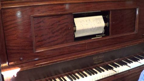 RAGTIME Player Piano: DILL PICKLES RAG Kukral 1911 WEBER