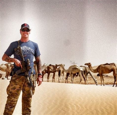 24th Special Tactics Squadron PJ with camels in Africa, c