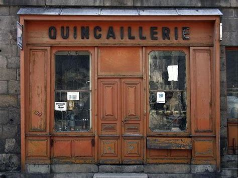 Vintage French Shopfronts | Shop fronts, French vintage