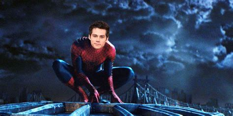 Dylan O'Brien, Andrew Garfield, The Amazing Spider-Man