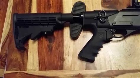 Mesa tactical high tube 870 bench review - YouTube