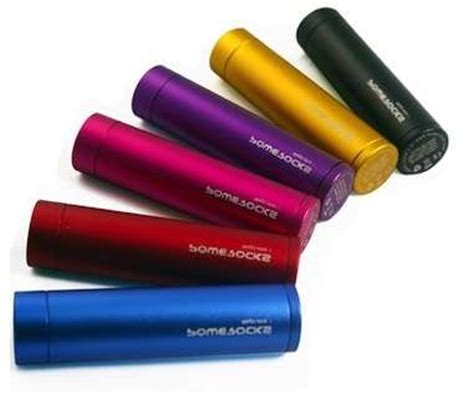 Lipstick-Sized Gadget Chargers : Device Battery Charger