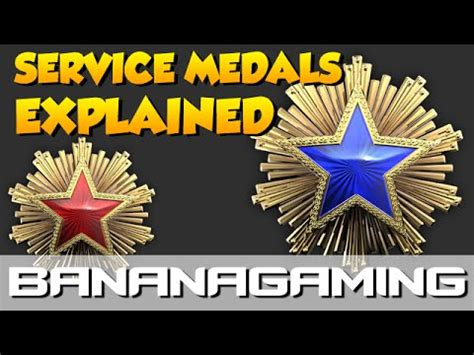 CS:GO - Service Medals Explained! - YouTube