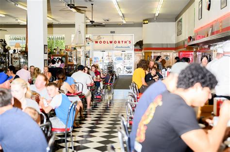 At the country's last remaining Woolworth's lunch counter
