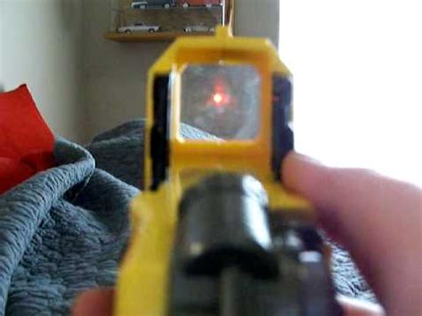 nerf pinpoint sight - YouTube