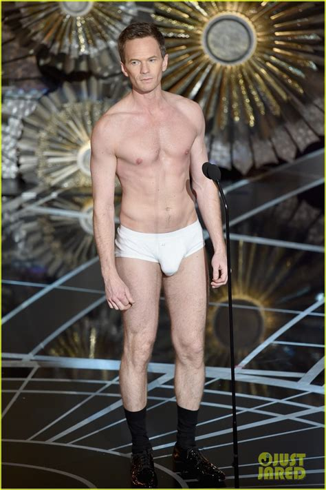 Neil Patrick Harris Strips Down to His Underwear for
