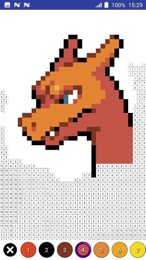 Color by Number Pokemon Pixel Art for Android - APK Download