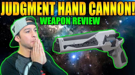 Destiny 2 | JUDGMENT HAND CANNON Review Trials of the nine