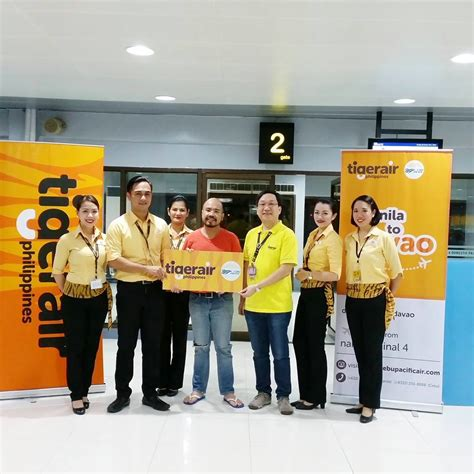 Tigerair Philippines Launches Flights to Davao - Aviation