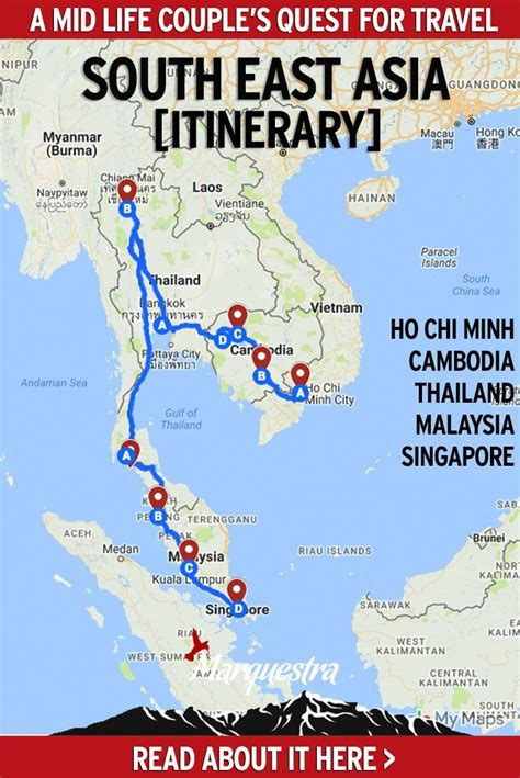Southeast Asia Itinerary (3 months) | Asia travel