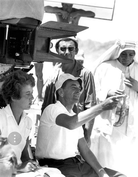 David Lean on the set of Lawrence of Arabia   Lawrence of