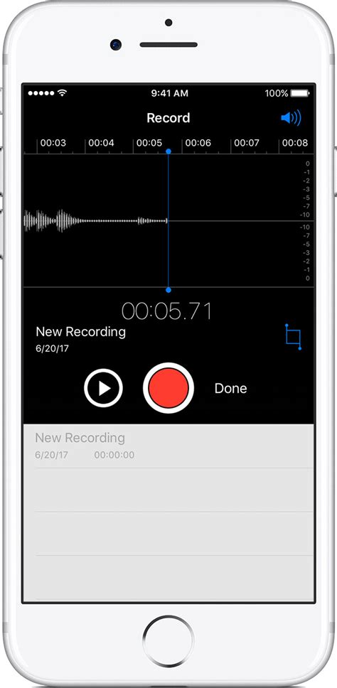 Record Voice Memos on your iPhone and iPod touch - Apple
