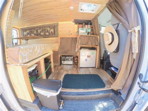 How I Converted a Cargo Van Into an Off-Grid Camper for
