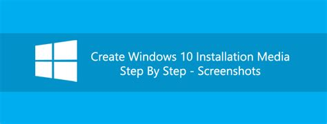 How To Create Windows 10 Installation Disk Or Bootable USB