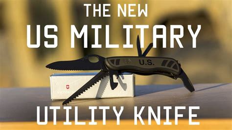 The US Military's New Combat Utility Knife | Review