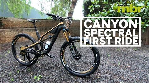 Canyon Spectral 2018 | First Ride | Mountain Bike Rider