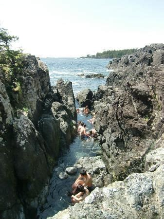 Take a boat to Hot Springs Cove out of Tofino, British