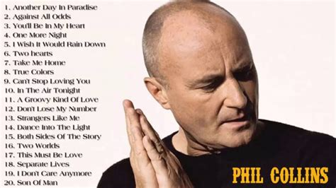 Phil Collins Best Songs - Phil Collins Greatest Hits Full