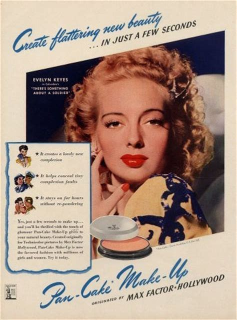 1950s Make Up – A look at Popular beauty brands from the era