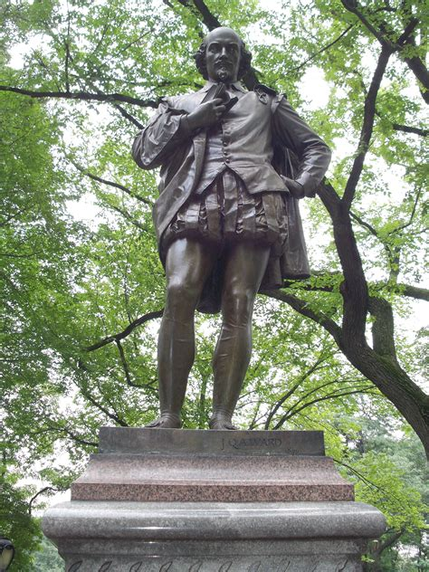 File:William Shakespeare Statue, Central Park, NYC
