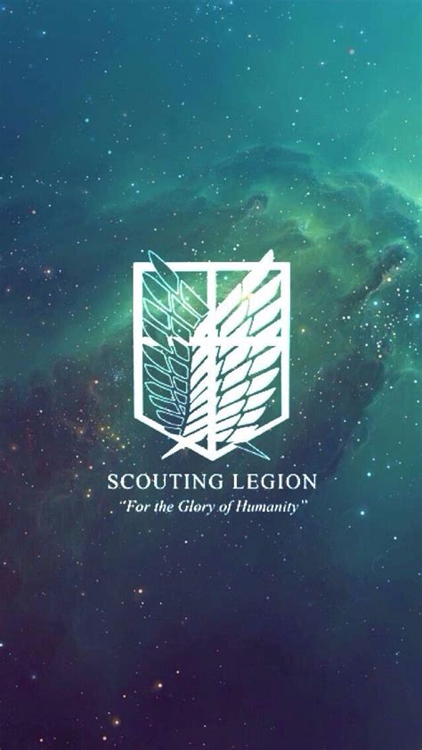 """Attack on Titan - Scouting Legion - """"For the Glory of"""