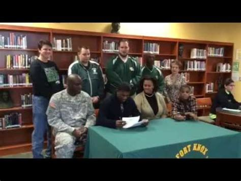 Fort Knox High School Student Signed to Campbellsville