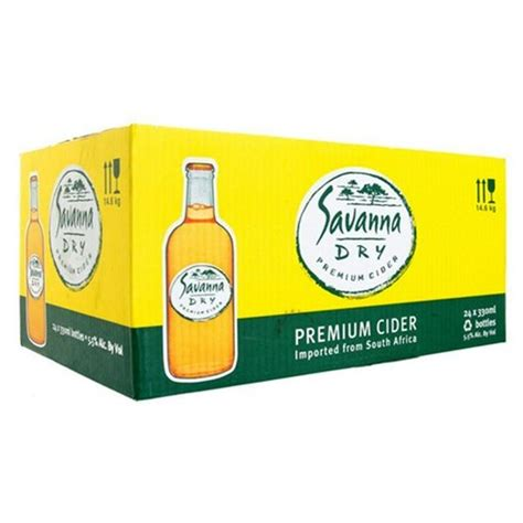 Savanna Cider Dry - For collection only - Die Spens