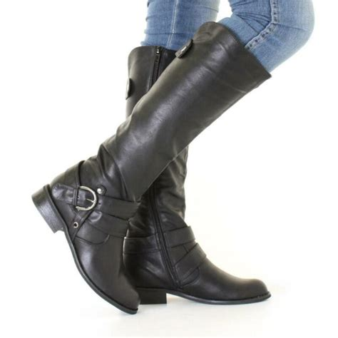 Leather Knee High Boots | eBay