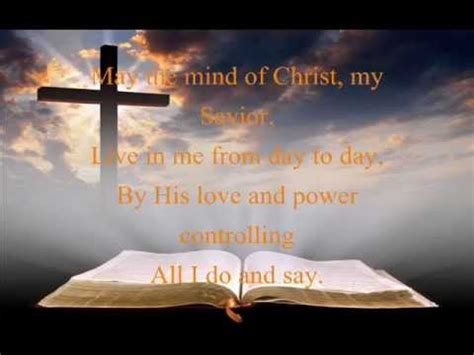 May The Mind of Christ My Savior by Jake Armerding