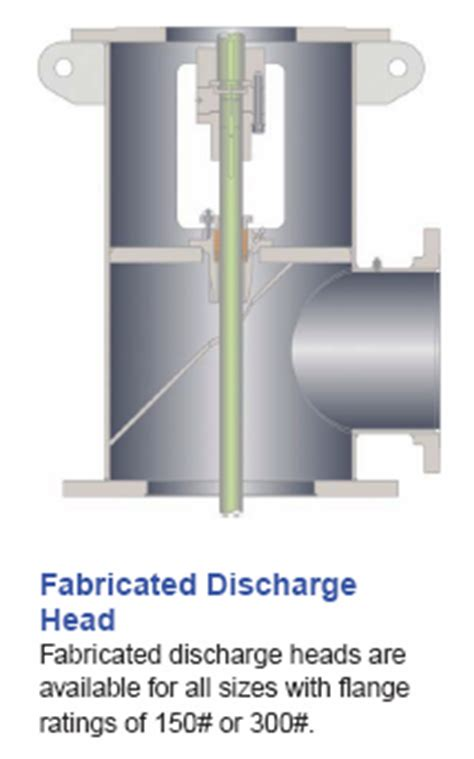 Steel Fabricated Discharge Heads - Mather Pump Service