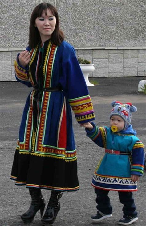 Nenets people | Traditional outfits, Beautiful costumes