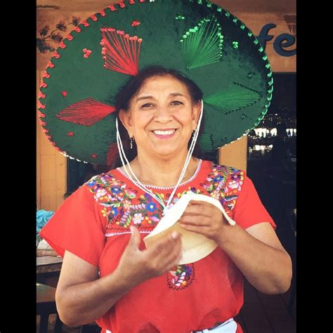 Our Beautiful Tortilla Lady, Elida making our Famous Flour