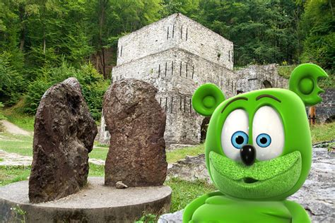 Around the World with Gummibär: The Caves of Lillafüred in