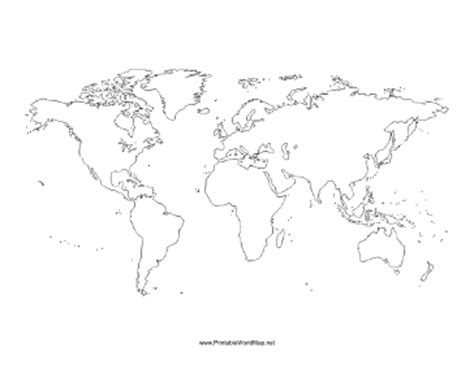 Maps Showing Political Boundaries Printable Blank World Maps