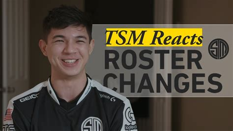 TSM Reacts: NALCS Roster Changes - YouTube