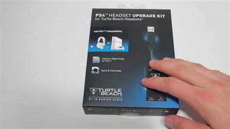 Unboxing Of PS4 Turtle Beach Headset Upgrade Kit   Use