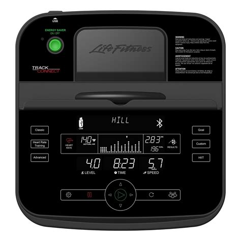 Life Fitness RS3 LifeCycle Liegeergometer mit Track Plus