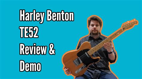 Harley Benton TE52 NA Review and Demo | by Andrzej