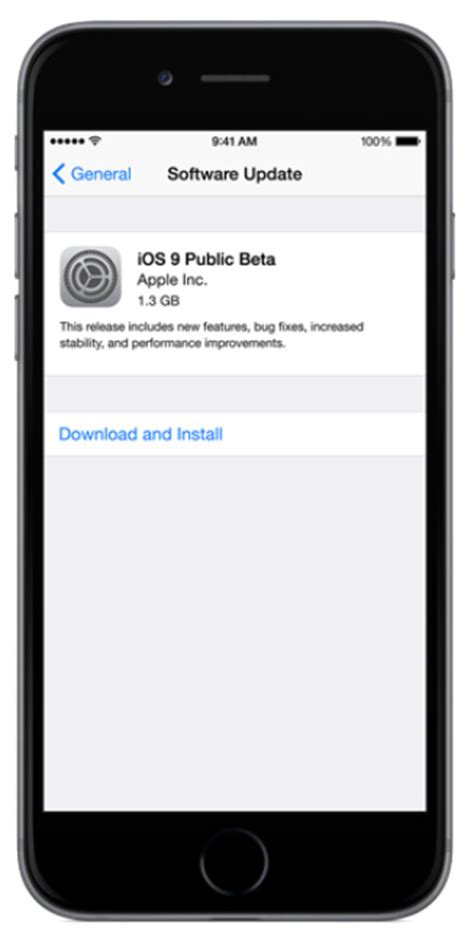 Download And Install iOS 9