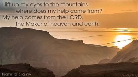 Psalm 121:1-2 — Verse of the Day for 09/11/2014