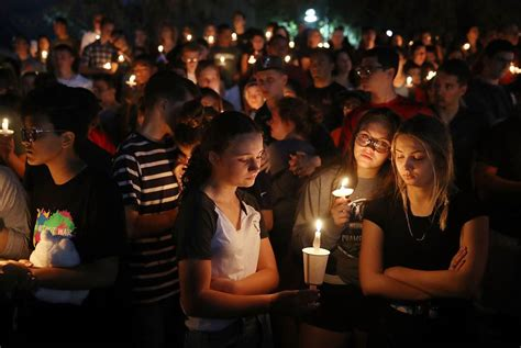 Thousands Gather to Honor Victims of Tragic High School