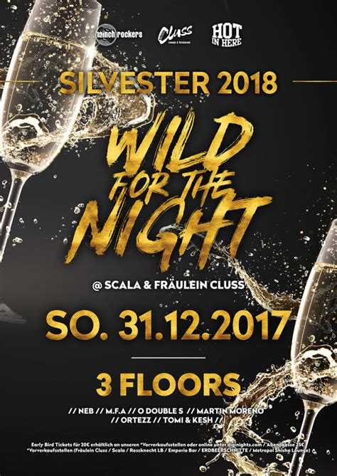 Party - Wild for the Night - New Year Edition 2017/2018
